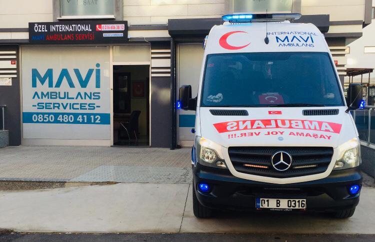 mavi ambulans