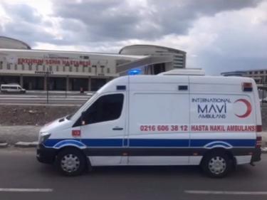 özel ambulans talebi