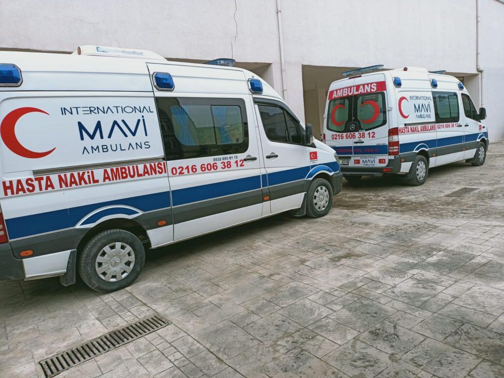 esenler ambulans araçları