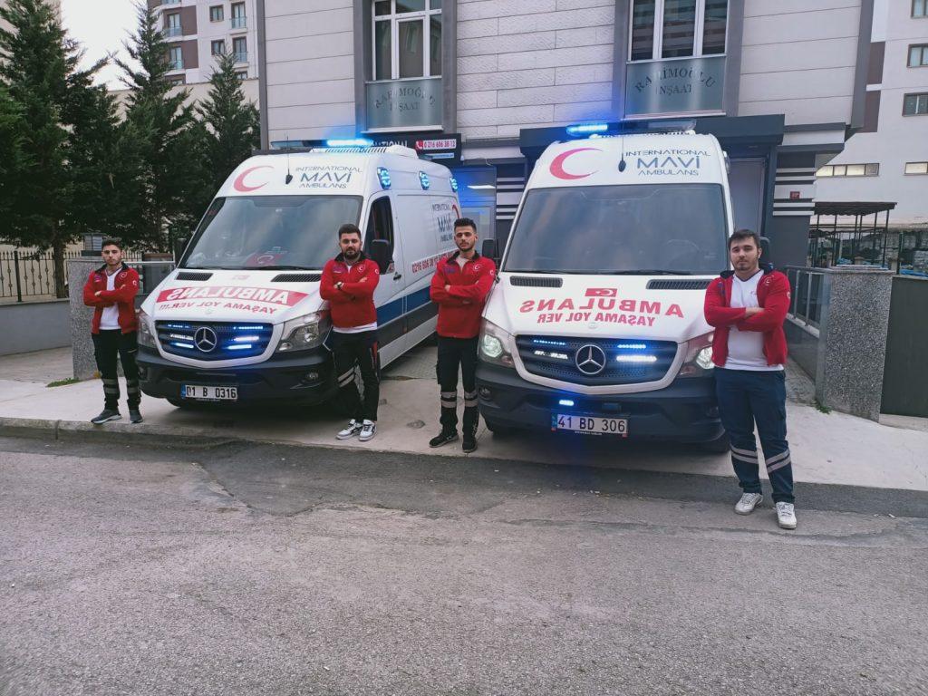 kesintisiz ambulans hizmeti