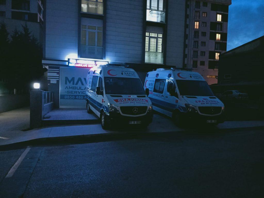 bahçelievler özel ambulans merkezi