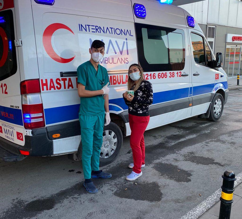 ümraniye özel ambulans deneyimli ekip