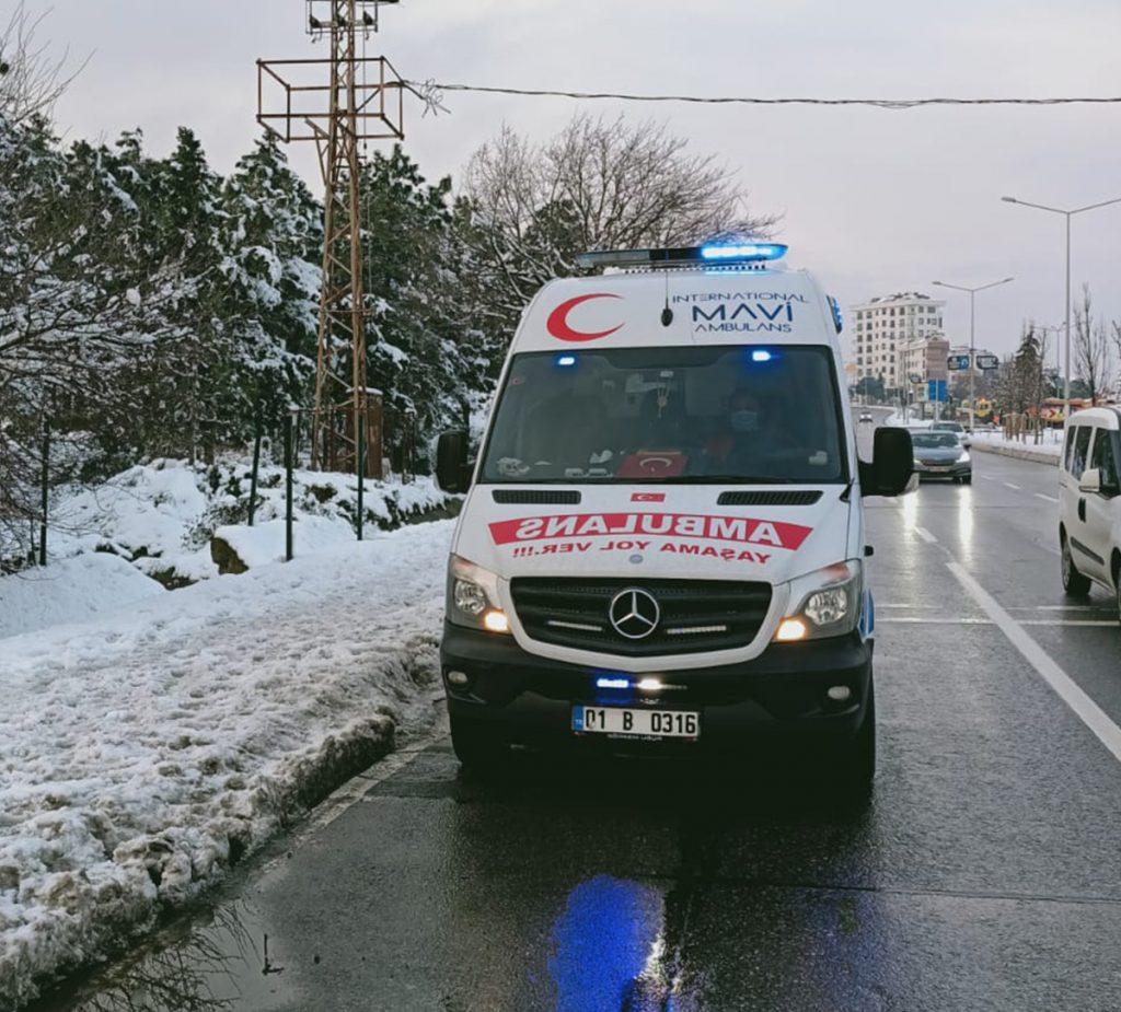 anadolu yakası ambulans