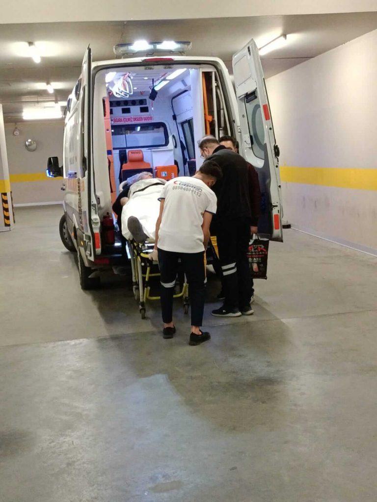 hastaneden eve hasta nakil