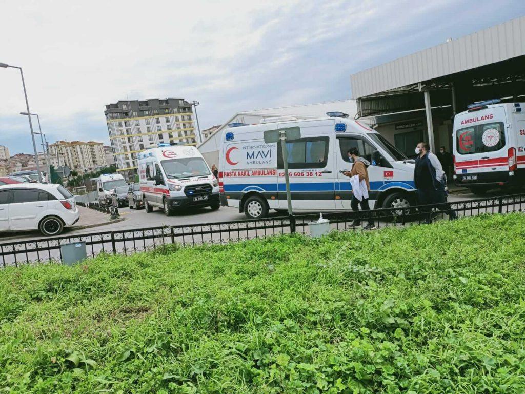 özel ambulans şirket araçları