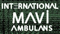 mavi özel ambulans logo