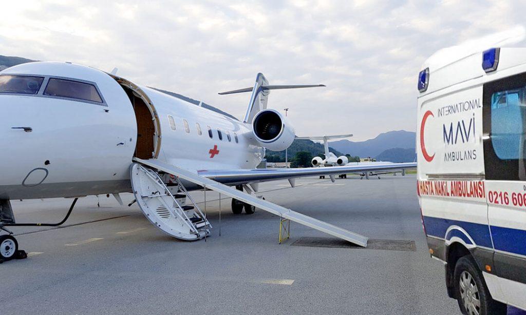 özel uçak ambulans