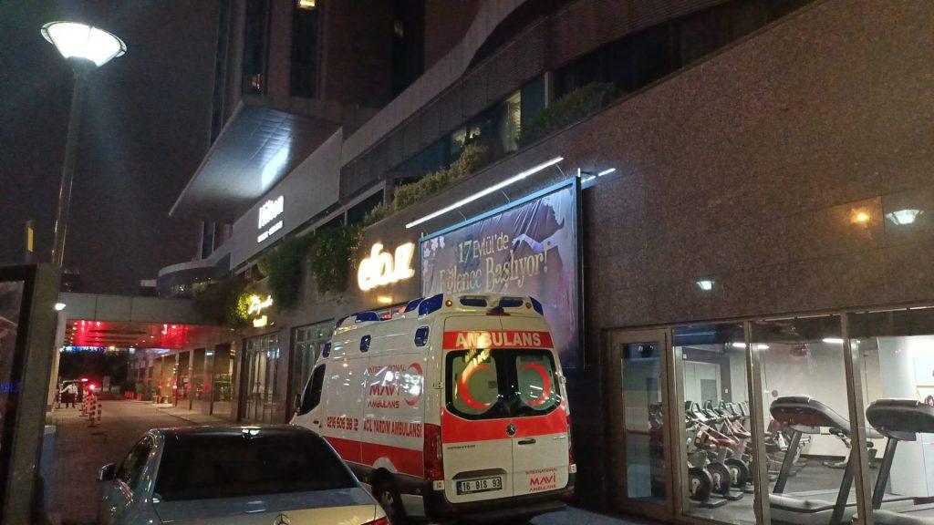 ağrı acil ambulans