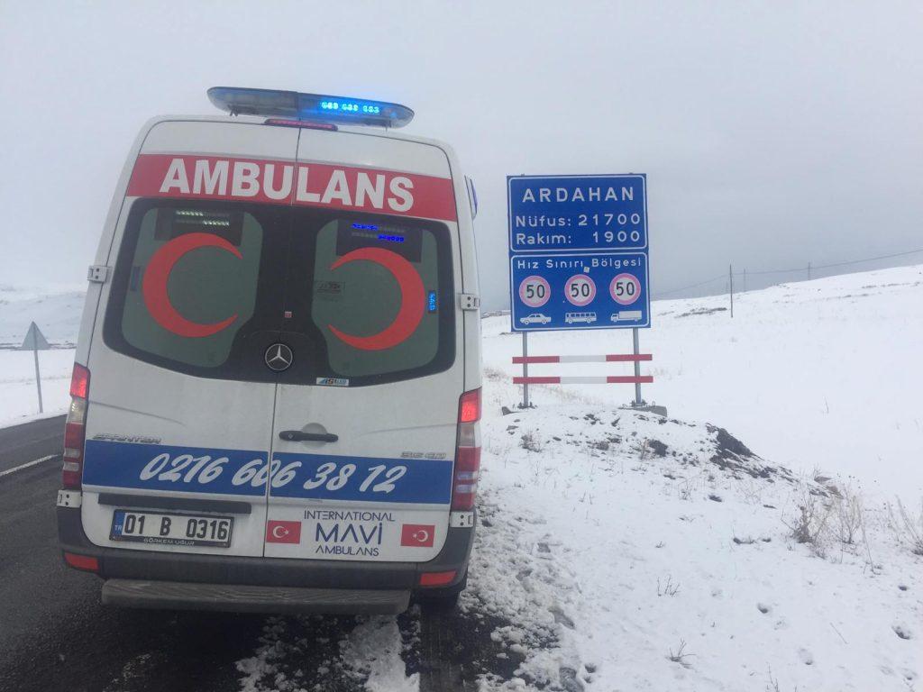 ardahan özel ambulans