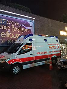 ığdır özel ambulans